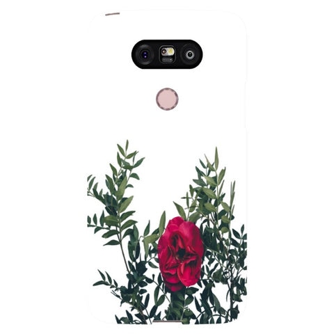 Red-rose-phone-case-LG Blast Case LITE For LG G5