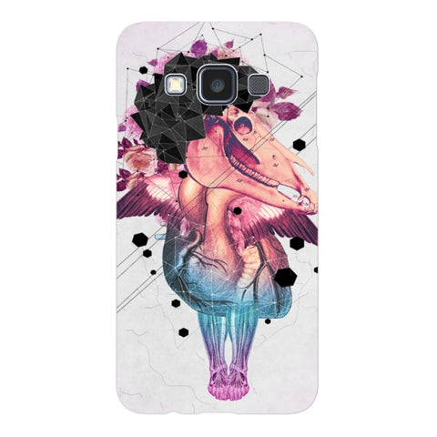 Colorful-skull-illustration-phone-case-Samsung Blast Case LITE For Samsung A3 - 2014 Model