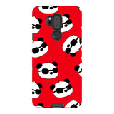 panda-Red-phone-case-LG Blast Case PRO For LG G7