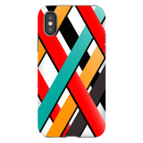 Line-pattern-White-phone-case-IPhone Blast Case PRO For iPhone X