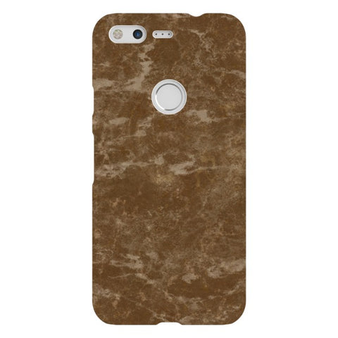 MARBLE-Brown-phone-case-Google-Pixel Blast Case LITE For Google Pixel