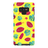 Summer-pattern-Yellow-phone-case-Samsung Blast Case PRO For Samsung Galaxy Note 9