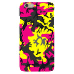 Camo-Pink-Yellow-phone-case-IPhone Blast Case LITE For iPhone 6