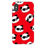 panda-Red-phone-case-IPhone Blast Case PRO For iPhone X