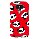 panda-Red-phone-case-LG Blast Case PRO For LG G5