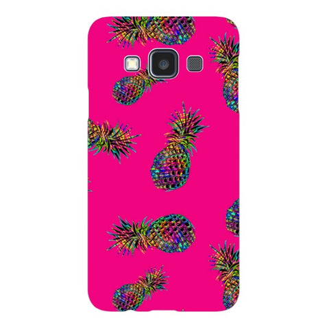 Radioactive-Pineapple-Pink-phone-case- Samsung Blast Case LITE For Samsung A3 - 2014 Model