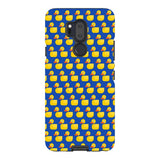 Ducks blue - LG-phone-case Blast Case PRO For LG G7