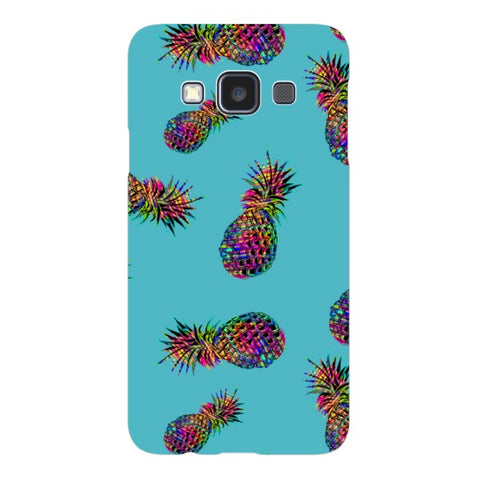 Radioactive-Pineapple-Light-Blue-phone-case- Samsung Blast Case LITE For Samsung A3 - 2014 Model