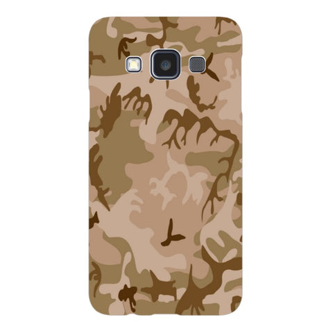 Camo-Brown-phone-case-Samsung Blast Case LITE For Samsung A3 - 2014 Model