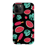 Summer-pattern-black-phone-case- IPhone Blast Case PRO For iPhone 11 Pro