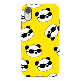 panda-Yellow-phone-case-IPhone Blast Case PRO For iPhone XR