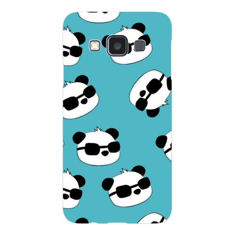 panda-Light-Blue-phone-case-Samsung Blast Case LITE For Samsung A3 - 2014 Model