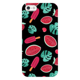Summer-pattern-black-phone-case- IPhone Blast Case PRO For iPhone 5