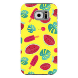 Summer-pattern-Yellow-phone-case-Samsung Blast Case PRO For Samsung Galaxy S6