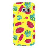 Summer-pattern-Yellow-phone-case-Samsung Blast Case LITE For Samsung Galaxy S6 Edge
