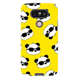 panda-Yellow-phone-case-LG Blast Case PRO For LG G5