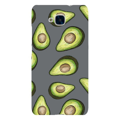 Guacamole-Light-Grey-phone-case-Huawei Blast Case LITE For Huawei Honor 5C
