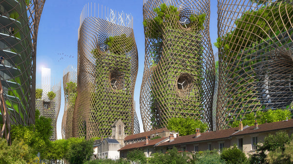 The '2050 PARIS SMART CITY' by Vincent Callebaut Architectures