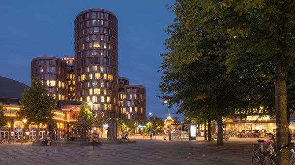 The 'Axel Towers' by Lundgaard & Tranberg Arkitekter