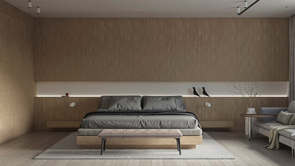 The 'Light Minimal Apartment' by Zazall Studio