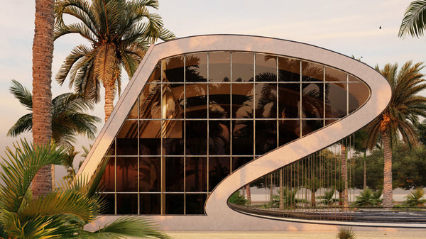The 'wave Commercial Complex' by Didformat Studio