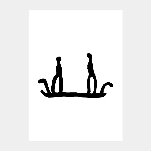 'Ancient Boat' Poster