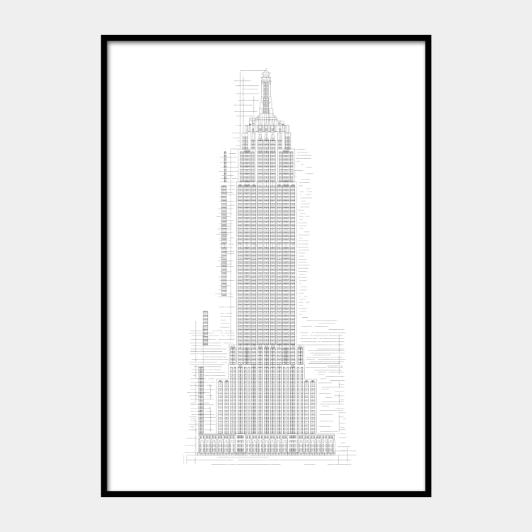 'Empire State I' Poster