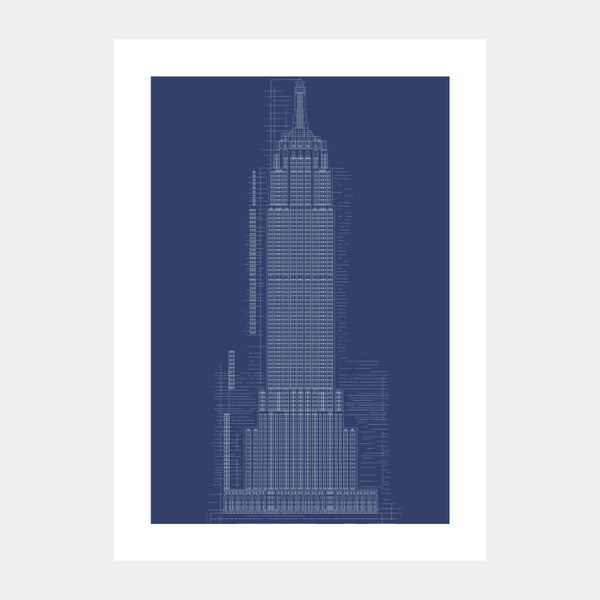 'Empire State II' Poster
