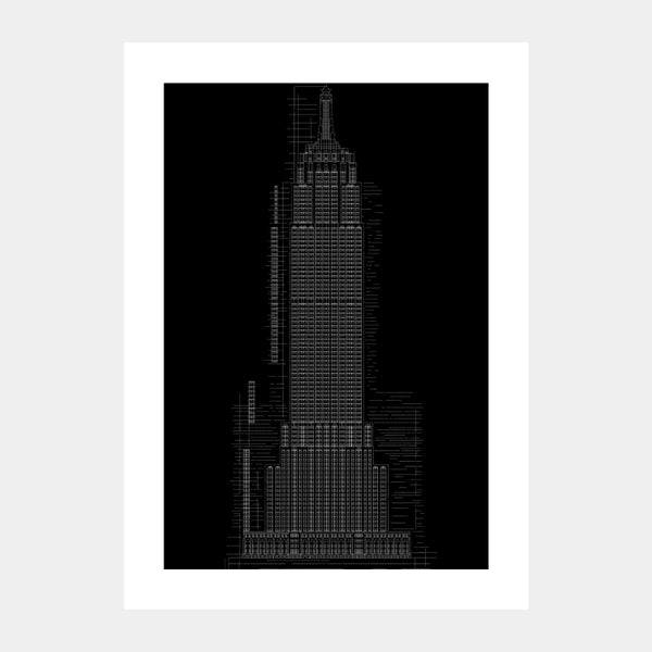 'Empire State III' Poster