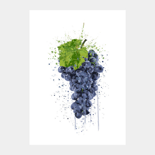 'Grape Splash' Poster