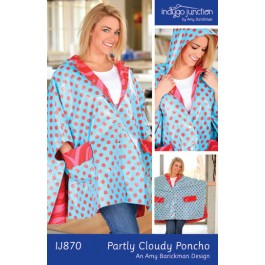 Partly Cloudy Poncho