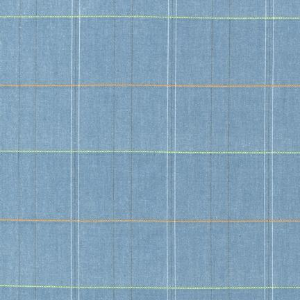 studio stash windowpane denim