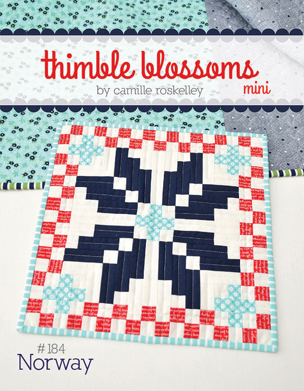 norway mini quilt pattern