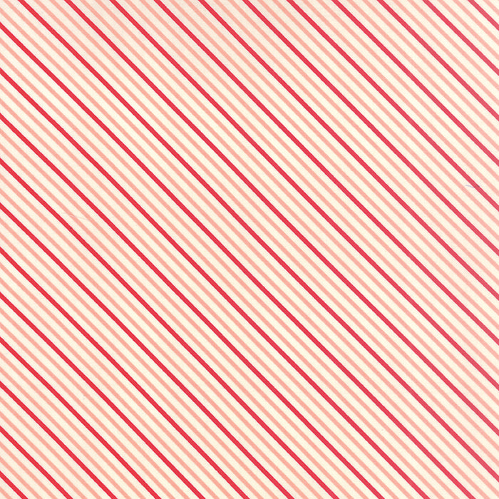 hello darling summer stripe coral red
