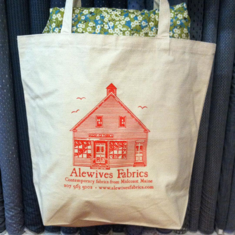 alewives fabrics tote bag