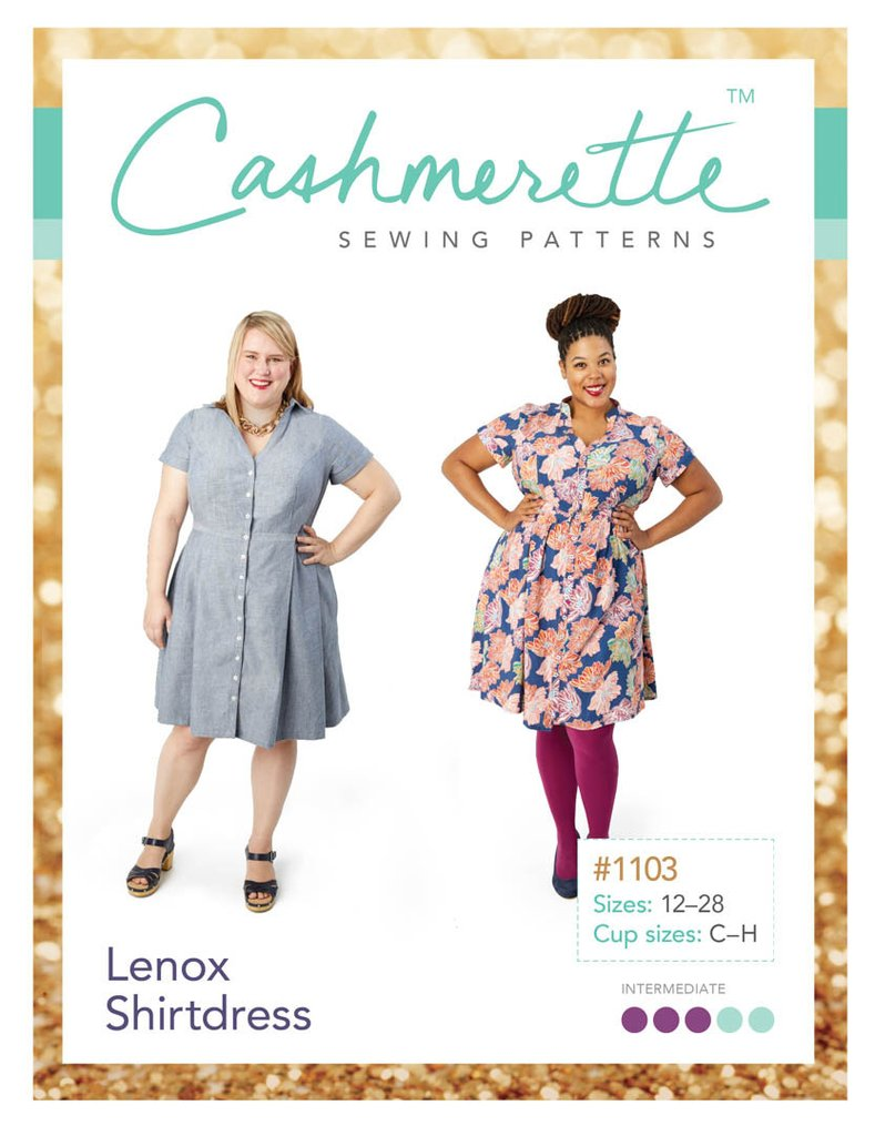 Cashmerette Lenox Shirtdress Pattern