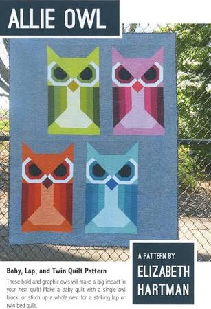 Allie Owl Quilt Pattern