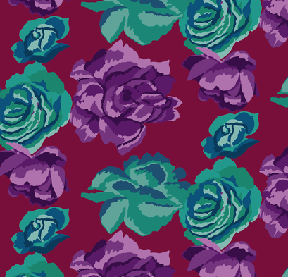 Fall 2017 Rose Clouds Maroon
