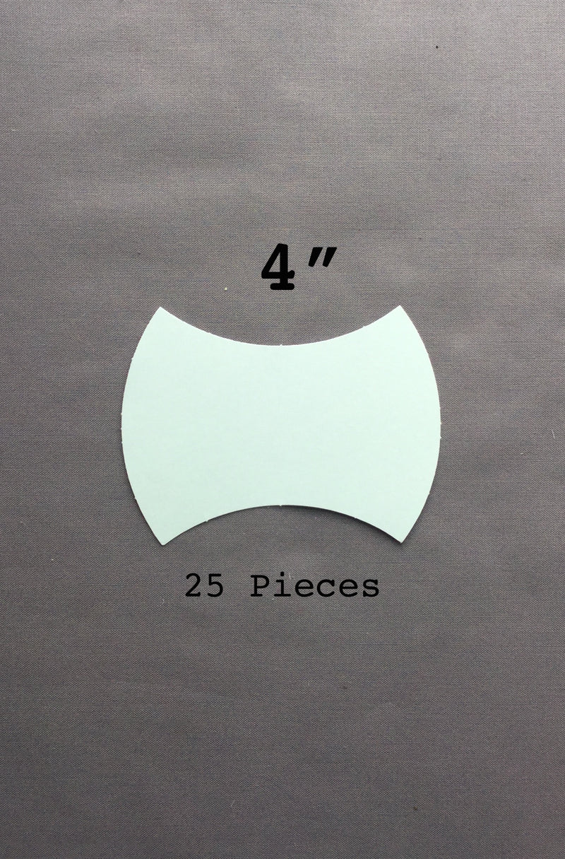 4-in Apple Core Paper Pieces 25 count