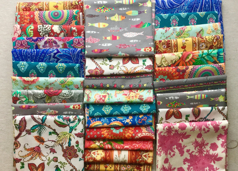 French Fabrics Fat Quarter Bundle