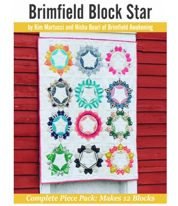 Brimfield Block Star Complete Paper Pieces Pack
