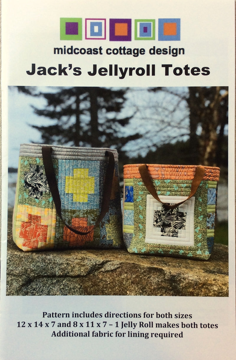 Jack's Jellyroll Totes