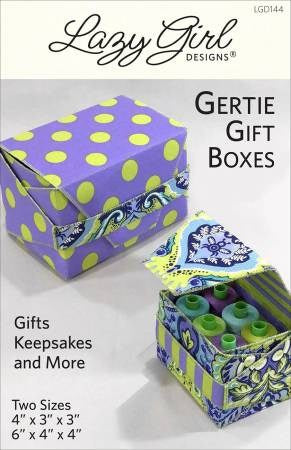 Gertie Gift Boxes Pattern