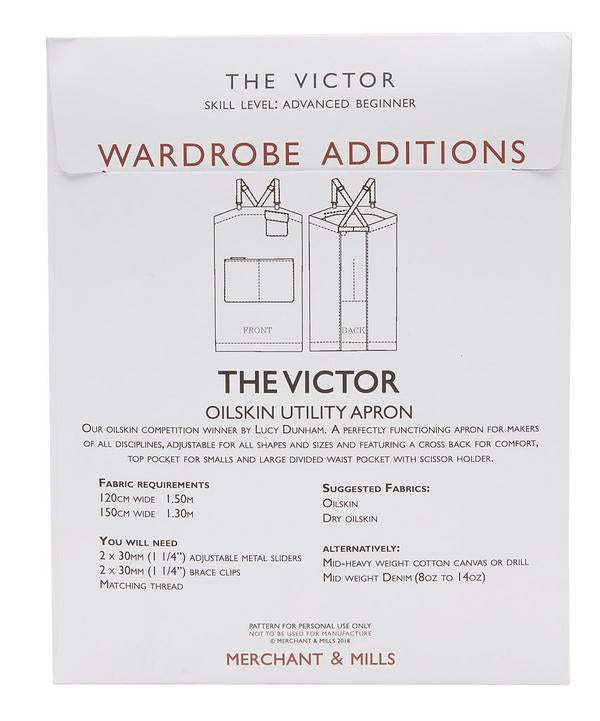 The Victor Apron Pattern