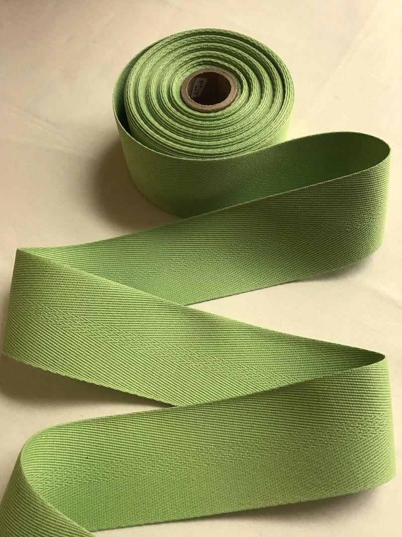 Spring Green Twill Tape