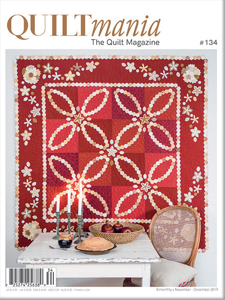 Quiltmania The Quilt Magazine Issue 134