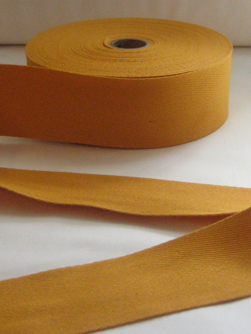 goldenrod twill tape