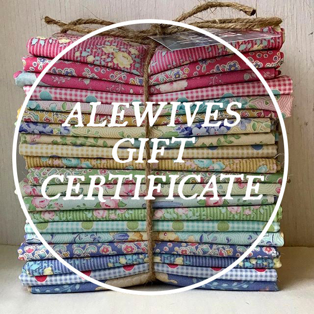 Alewives Fabrics Gift Certificate