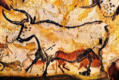 Bull Cave Art Lascaux Montignac And Dordogne | Here Is Why Tribal Art Is Rooted In Mythology