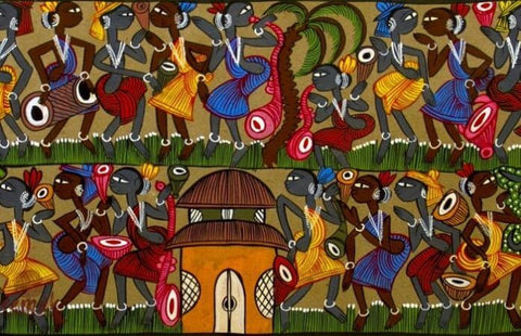 Santhal Tribe Art | Here Is Why Tribal Art Is Rooted In Mythology